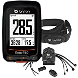 Bryton Rider 310 GPS Cycling Computer (1.8 display, 310T - With Cadence + HRM) by Bryton Bryton