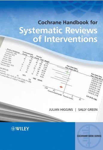 Cochrane Handbook for Systematic Reviews of Interventions (Wiley Cochrane Series  )