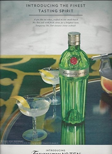 print-ad-for-2014-tanqueray-no-ten-finest-tasting-spirit-print-ad