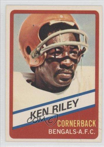 Ken Riley Cincinnati Bengals (Football Card) 1976 Wonder Bread #23