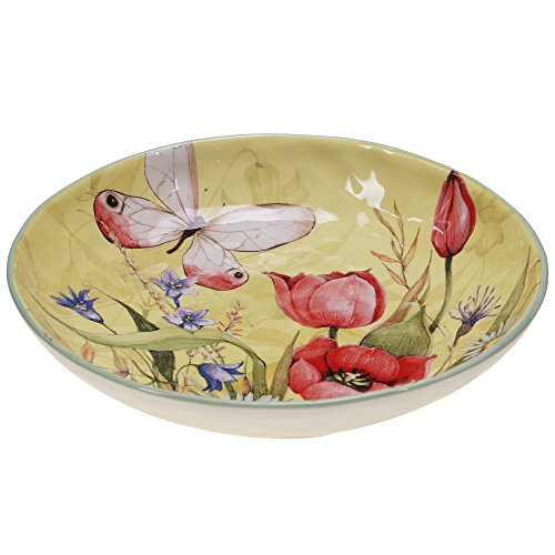 Certified International 13732 Floral Bouquet Serving/Pasta Bowl, 13