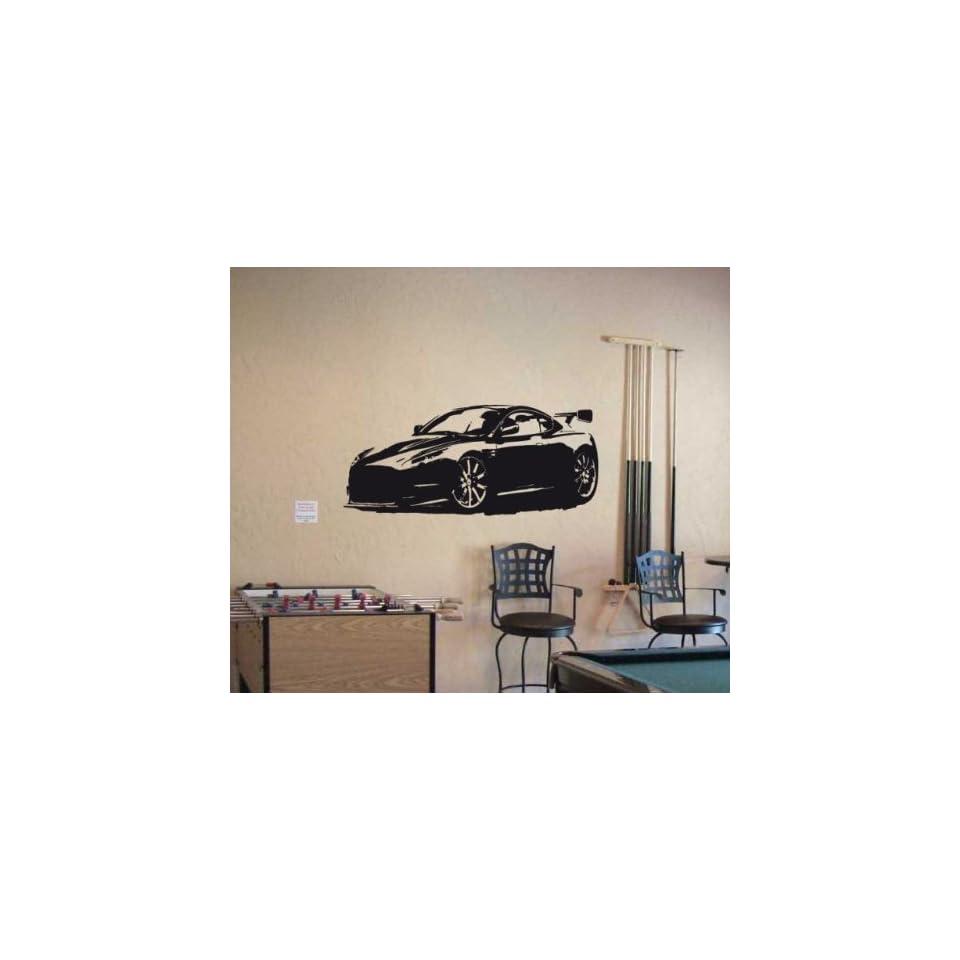 Wall MURAL Vinyl Sticker Car 2010 ASTON MARTIN DB9 005