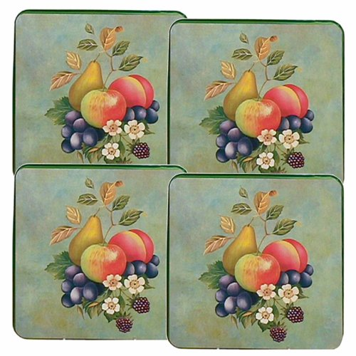 Reston Lloyd Gas Burner Covers, Set Of 4, Garden Fruit