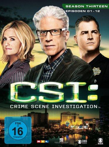 CSI: Crime Scene Investigation - Season 13.1 [Limited Edition] [3 DVDs]