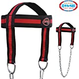 Head Harness Body Building Head Strap comfort training with chain (free shipping)