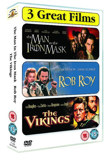 Action Triple - Man in the Iron Mask/Rob Roy/the Vikings [DVD]