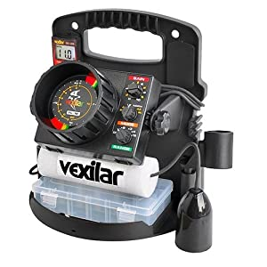 Vexilar PP18PVD FL-18 Pro Pack II ProView Ice-Ducer Combo by Vexilar