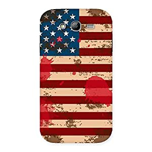 Cute Grunge USA Flag Multicolor Back Case Cover for Galaxy Grand Neo
