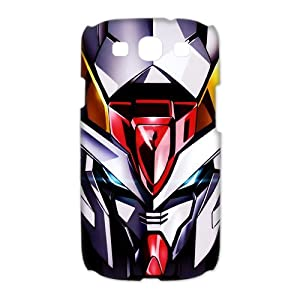 CTSLR Anime Gundam Protective 3D Hard Case Cover Skin for Samsung Galaxy S3 I9300-1 Pack-1