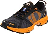 Pearl iZUMi Men's Syncro Trail II Trail Running Shoe,Shadow Grey/Safety Orange,9 D US
