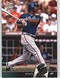 2010 Upper Deck Baseball Card # 59 Brandon Jones - Atlanta Braves - MLB Trading Card Screwdown !