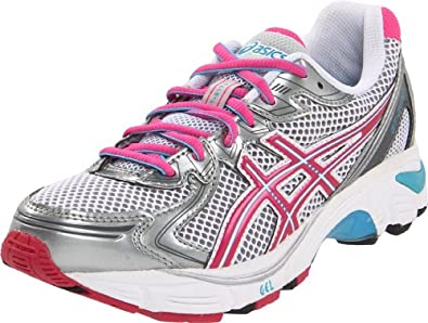 ASICS GT 2170 GS Running Shoe (Little Kid/Big Kid),White/Electric Pink/Tahiti,3.5 M US Big Kid