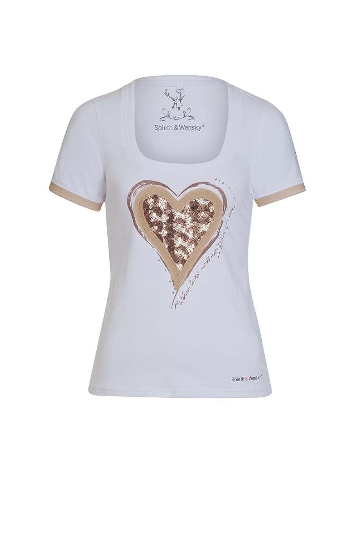 Spieth & Wensky Damen T-Shirt Avelina 4093 weiß günstig online kaufen