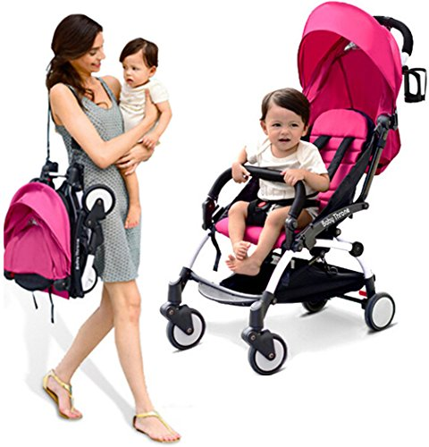 Warmword-Umbrella-Stroller-Lightweight-for-Toddler-Stroller-Travel-System-Pink