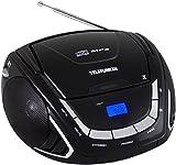 Telefunken RC1005M tragbarer MP3-CD-Player schwarz