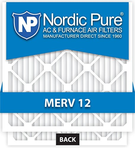 20x20x1-MERV 12 A/C Furnace Air Filters by Nordic Pure (Box of 6) (Air Filter 20x12x1 compare prices)