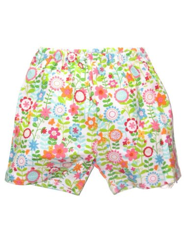 Flower Time Shorts by Zutano - Buy Flower Time Shorts by Zutano - Purchase Flower Time Shorts by Zutano (Zutano, Zutano Apparel, Zutano Toddler Girls Apparel, Apparel, Departments, Kids & Baby, Infants & Toddlers, Girls, Shorts)