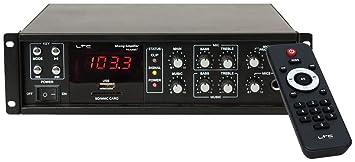 Amplificateur 80 watt ELA Bluetooth sons chaîne MP3 FM tuner numérique PAA 80 BT