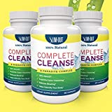 3-n-1 Triple Action Weight Loss Supplement Detoxifies Your Body Gently & Safely - Aids in Weight Loss & Provides Natural Appetite Suppressant & Bowel Cleanse. No Side Effects! Manufactured in a USA GMP Certified Facility