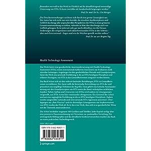 Health Technology Assessment (Veröffentlichungen des Instituts für Deutsches, Europäisches und In