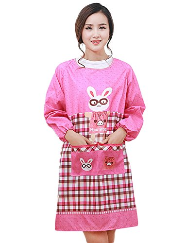 moolecole-home-kitchen-apron-adult-overalls-for-women-with-pockets-winter-waterproof-fashion-rabbit-