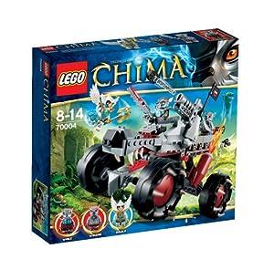 Lego Legends Of Chima - Playthèmes - 70004 - Jeu de Construction - Le Tout-Terrain Loup de Wakz