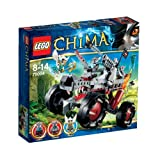 Lego Legends Of Chima - Playth�mes - 70004 - Jeu de Construction - Le Tout-Terrain Loup de Wakz