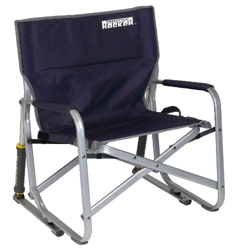 Gci Outdoor Freestyle Rocker, Indigo Blue back-237010