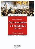 echange, troc Vincent Adoumié - De la monarchie à la république (1815-1879)