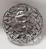 Lampenglas Lampenschirm G9 Drahtkugel chromfarbig G8142-05