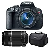 Canon EOS Rebel T5i Digital SLR Camera & EF-S 18-55mm IS STM Lens with Canon EF-S 55-250mm f 4.0-5.6 IS II Zoom Lens