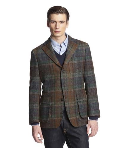 Hickey Freeman Men's Shetland Wool Jacket