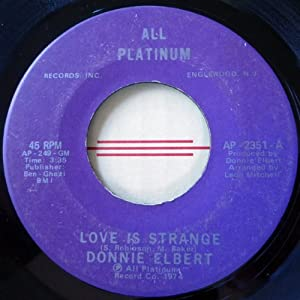 "Donnie Elbert - Love Is Strange - [7""]"