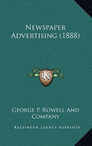 Newspaper Advertising (1888)