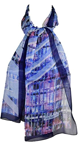 guy-laroche-cinetic-abstract-blue-silk-scarf