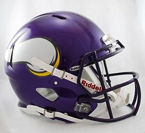 NFL Minnesota Vikings Speed Authentic Football Helmet by Riddell