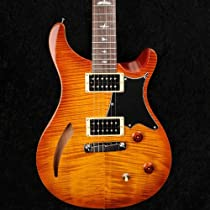PRS SE Custom Semi-Hollow Vintage Sunburst Electric Guitar with Gigbag