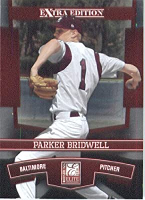 2010 Donruss Elite Extra Edition Baseball Card # 94 Parker Bridwell - Baltimore Orioles (XRC - Rookie Card - Prospect) MLB MLB Trading Card