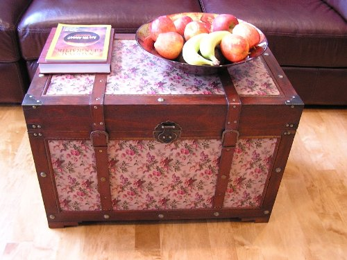 Savannah Chest Wooden Steamer Trunk - Large Size 0