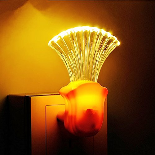 Amy Cloud DP Bottles of fan Automatic LED Plug In Night Light With Dusk to Dawn Sensor -407 (Plug In Bathroom Fan compare prices)