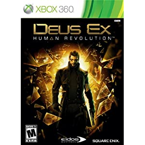 Deus Ex: Human Revolution Standard Edition Video Game for Xbox 360