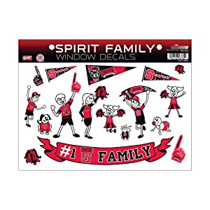 Buy NCAA North Carolina State Wolfpack Family Sticker Sheet by Rico