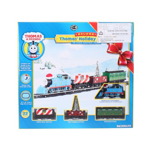 Bachmann Trains Thomas Holiday Special Ready-To-Run Ho Train Set