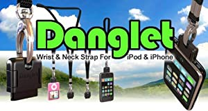 Danglet Wrist and Neck Strap Adapter for iPod iPhone Touch