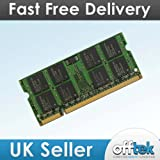 2GB RAM Memory for Fujitsu-Siemens LifeBook S7210 (DDR2-5300) - Laptop Memory Upgrade