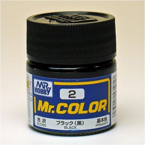 Mr.カラー C2 ブラック (黒)
