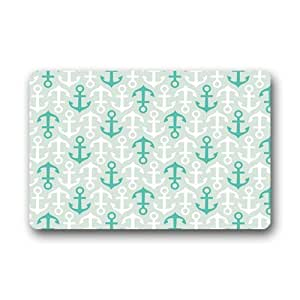 Akf shop decorative retro vintage anchor for Decorative door mats indoor
