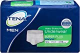 TENA for Men Heavy Protection Underwear, Super Plus Absorbency, Medium/Large, 16 Count