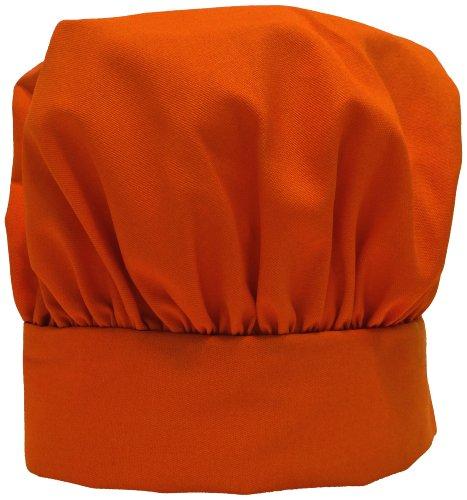 Phoenix Kid's Chef Hat, 10-Inch, Orange