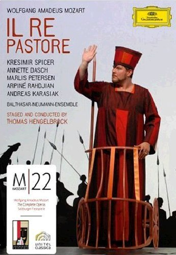 Il Re Pastore (Petersen, Brock, Spicer) - Mozart -  DVD